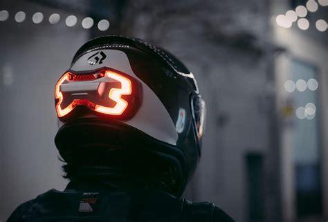motorcycle helmet led lights helmet brake light
