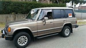 1990 Mitsubishi Montero For Sale 1990 Mitsubishi Montero Ls Sport Utility 4 Door 3 0l For