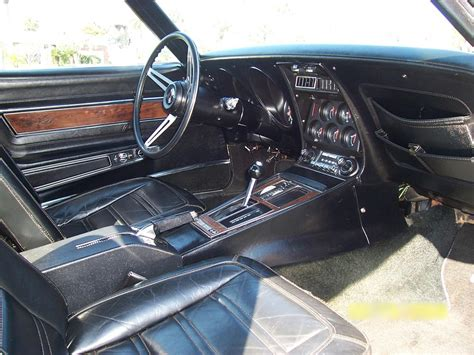 1973 Chevy Interior by 1973 Chevrolet Corvette Coupe 64170