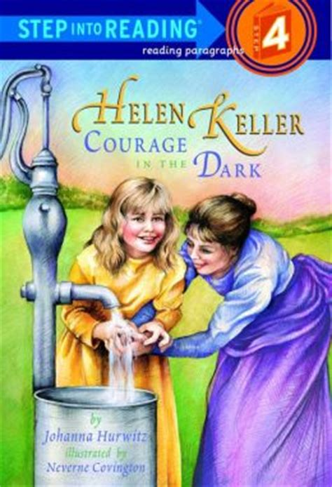 helen keller courage in the step into reading book