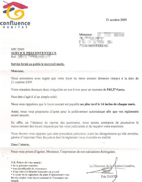 Lettre De Bienvenue Free Flamberge Montereau 187 Intimidation Locative