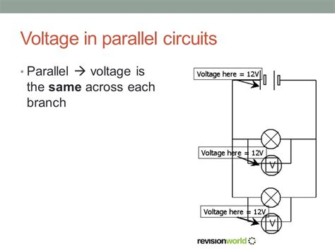parallel circuits potential difference topic 5 1 electric potential difference current and resistance ppt