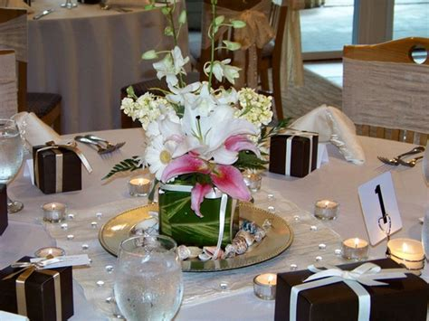 Table Decor by 35 Black And White Wedding Table Settings Table