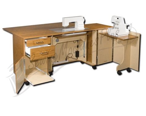 sewing machine furniture cabinets horn 5278 elite cabinet with air lift system