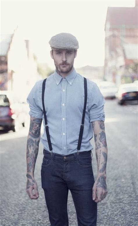 suspender tattoo best 25 flat cap ideas on gatsby hat mens