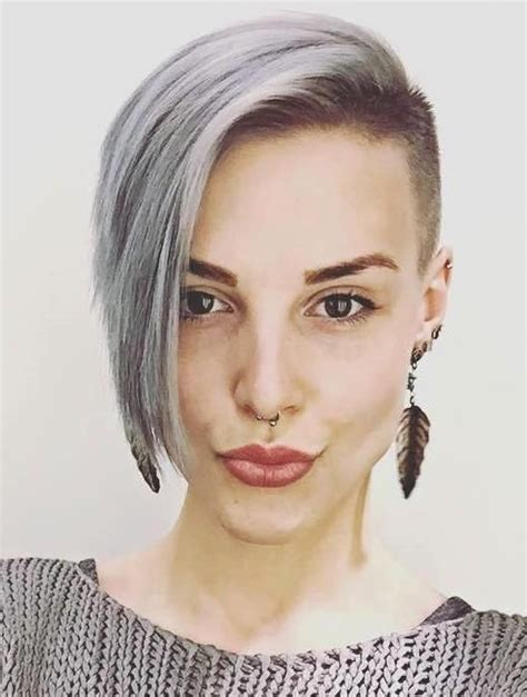 short hair styles shaved around ears 197 best sidecut images on pinterest