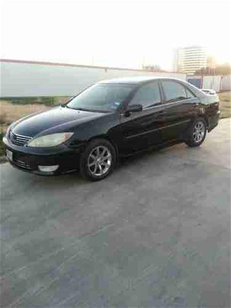 2005 Toyota Camry Tire Size Buy Used 2005 Toyota Camry Xle 4 Door Sedan Black Paint