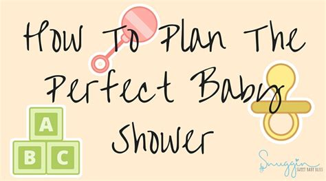 Www Plan The Baby Shower by Plan The Baby Shower How To Plan The Baby