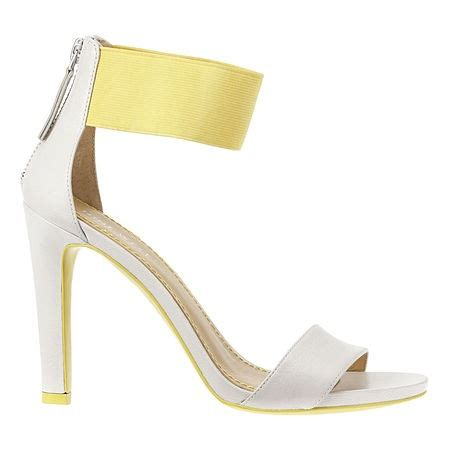Yummi Ankle Heels anything freaking ankle strapped out i yellow wrap