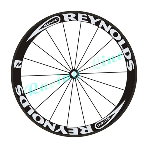 Decal Rims Renolds 5cm cycling decals stickers road bike bicycle