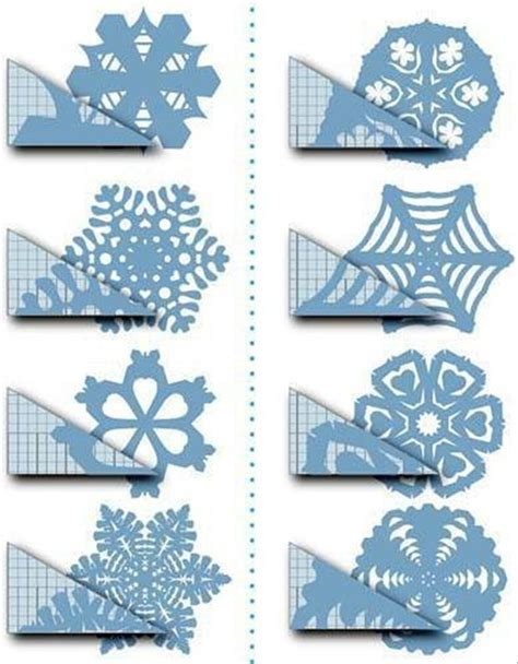 How To Make Paper Snoflakes - crafts paper snowflakes how to cut a snowflake