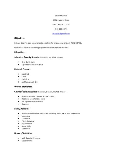 Resume Objective Statement Exle by Objective Statement Exle 28 Images 10 Exle Resume