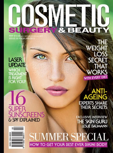 michelle kearney editor in chief of cosmetic surgery amp beauty magazine
