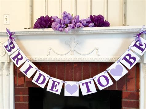 purple bridal shower decorations to by