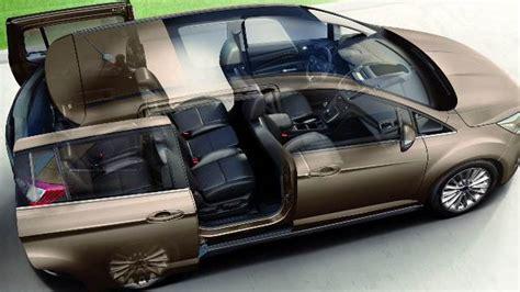 Ford Grand C Max Kofferraumvolumen by Ford Grand C Max 2015 Abmessungen Kofferraumvolumen Und