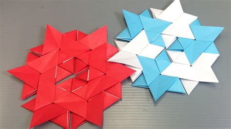 Simple Modular Origami - easy origami modular hexagon