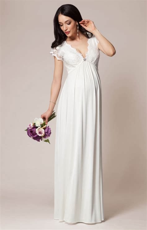 New Sevilla Dress sevilla maternity wedding gown ivory maternity