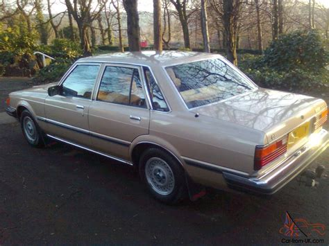 1982 Toyota Cressida 1982 Toyota Cressida Gl 2 0 5 Speed Manual 4 Door Saloon