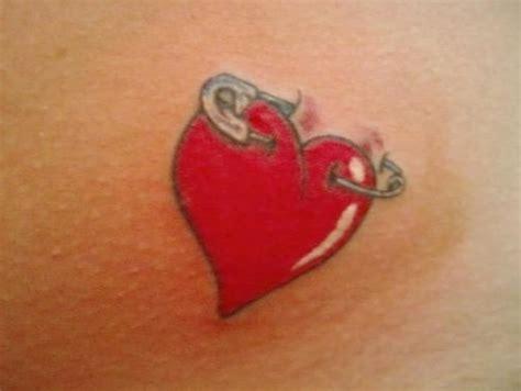 heart tattoos red red heart tattoo