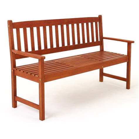 wooden garden bench ebay wooden garden bench fsc certified outdoor patio balcony