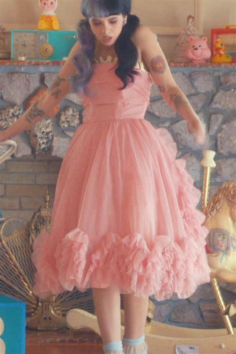 Mel Dres Pink melanie martinez pink knee length sweet 16 dress