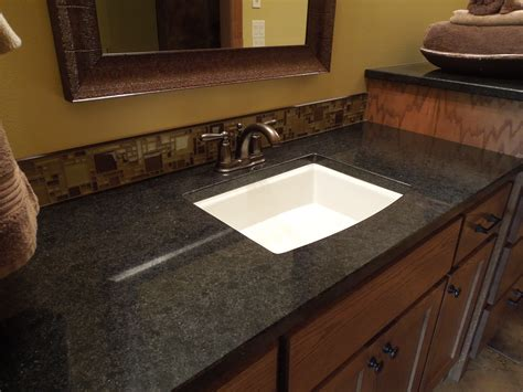 bathroom countertops by creative surfaces of black
