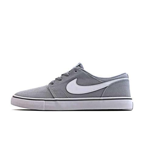 Sepatu Nike Sb Portmore nike sb portmore 2 solarsoft canvas wolf grey nkk763wg