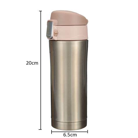 Termos Mug Stainleaa 350ml stainless steel thermos travel mug vacuum flask bottle coffee tea insulated cup alex nld