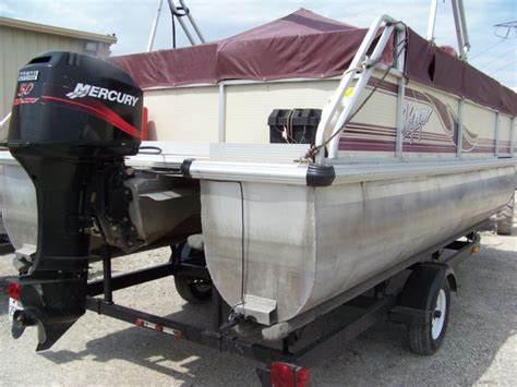 2000 voyager pontoon boat 2000 voyager marine vf20 sport for sale in dupo il
