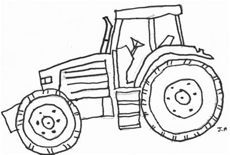 Coloring Pages Of Tractors deere tractor coloring pages coloring home