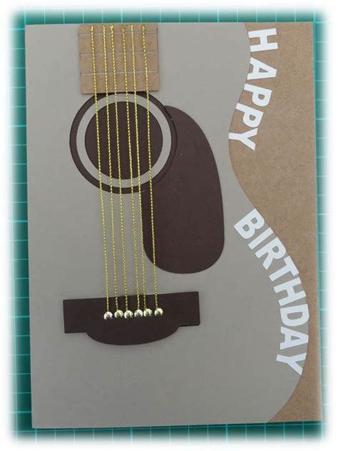 printable birthday cards with guitars cards boys and merry christmas on pinterest