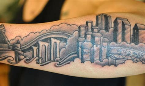 boston skyline tattoo tattoo collections