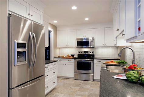 White Beige white kitchen beige tile floor morespoons f00e7da18d65