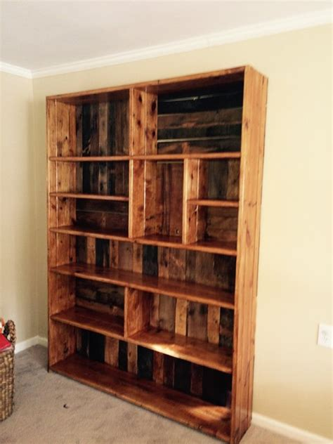 rustic bookshelves built in rustic bookshelves