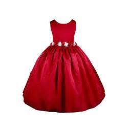 Amj dresses inc elegant red flower girl christmas dress