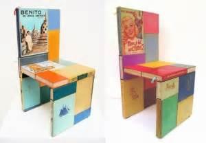 Book Chair Book Furniture Nifty Homestead