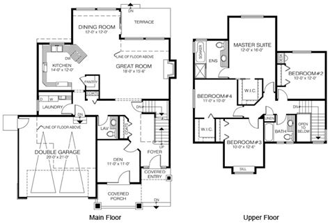 cedar home floor plans house plans the canby cedar homes