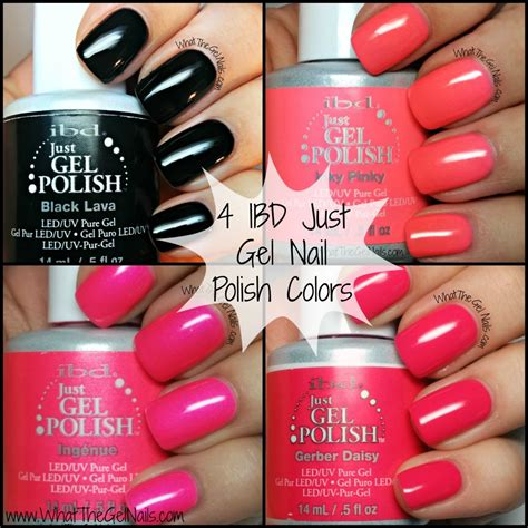 gel nails colors 4 ibd just gel nail colors