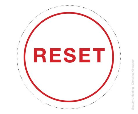 unfolding reset button