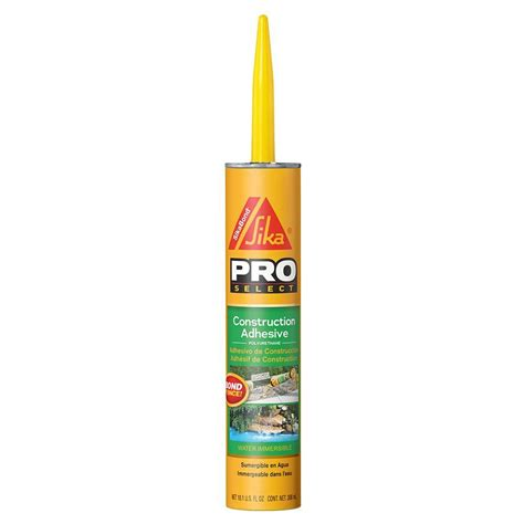 Lowes Kitchen Ideas Sikabond 10 1 Fl Oz Construction Adhesive 106403 The