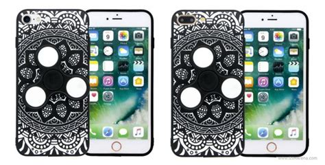 Fidget Spinner Smartphone For Iphone 7 Plus Berkualitas iphone 7 and 7 plus cases with built in fidget spinner now