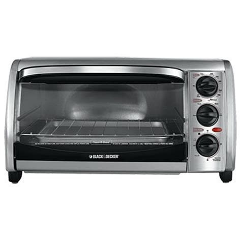 Black And Decker Toaster Oven Black Decker 174 Stainless Steel Toaster Oven Big Lots
