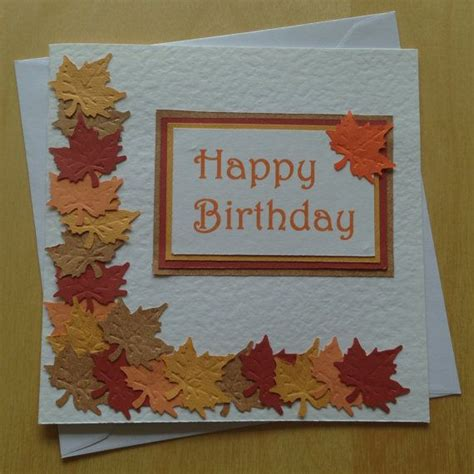 Square Birthday Card