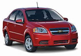 vehicle types for florida california and other us car rentals