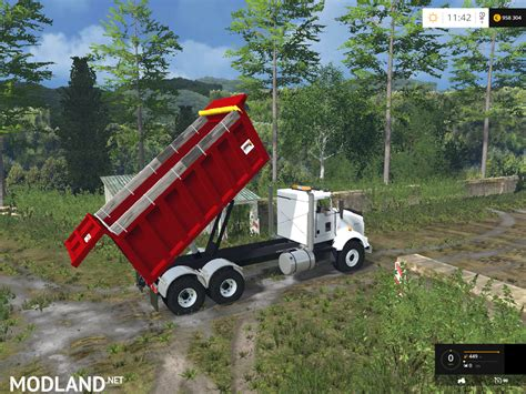 2015 kenworth dump truck kenworth dump v 2 0 mod for farming simulator 2015 15