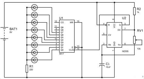 led blinker circuit diagram best led circuit using 555 timer ic led blinker