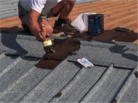 Diy Roof Repair Fix Roof Gutter Water Leaks Diy Waterproofing