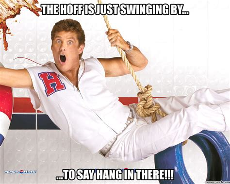 David Hasselhoff Meme - hoff inspirational