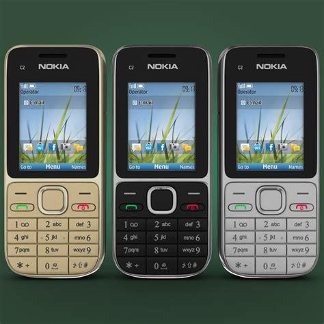nokia themes model c2 3d model of nokia c2 01