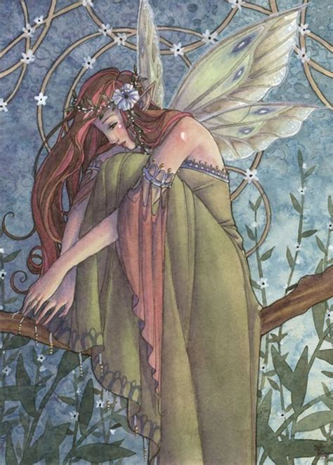 fairies a guide to the celtic fair folk books print celtic with flowers by